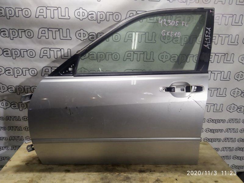 Дверь боковая Toyota Altezza GXE10 1G-FE передняя левая