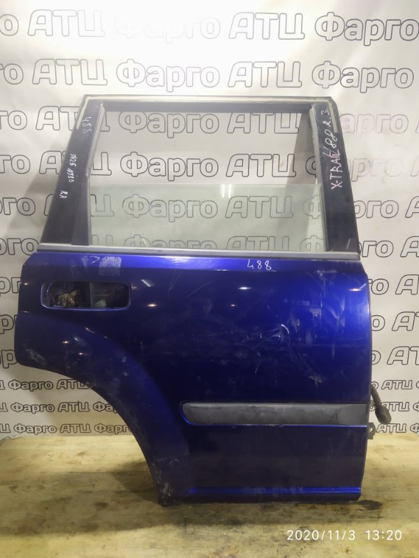 Дверь боковая Nissan X-Trail NT30 QR20DE задняя правая