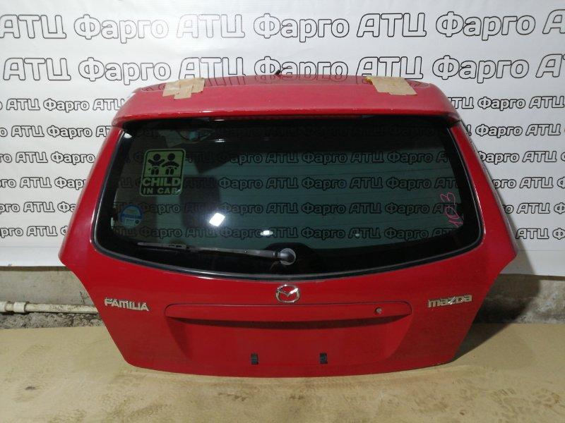 Дверь задняя багажника Mazda Familia S-Wagon BJ5W ZL-VE
