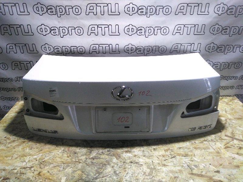 Крышка багажника Lexus Is250 GSE20 4GR-FSE задняя