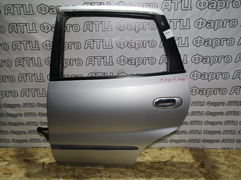 Дверь боковая Nissan Tino V10 QG18DE задняя левая
