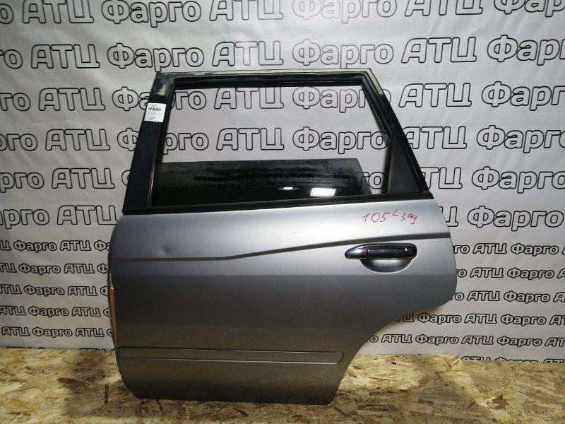 Дверь боковая Nissan Avenir W11 QG18DE задняя левая
