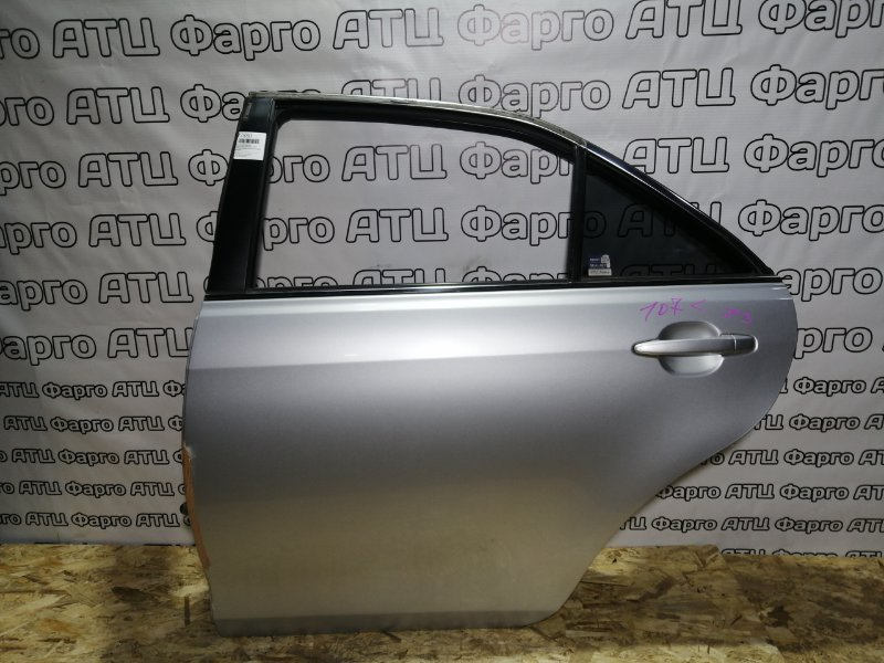 Дверь боковая Toyota Camry ACV40 2AZ-FE 2007 задняя левая
