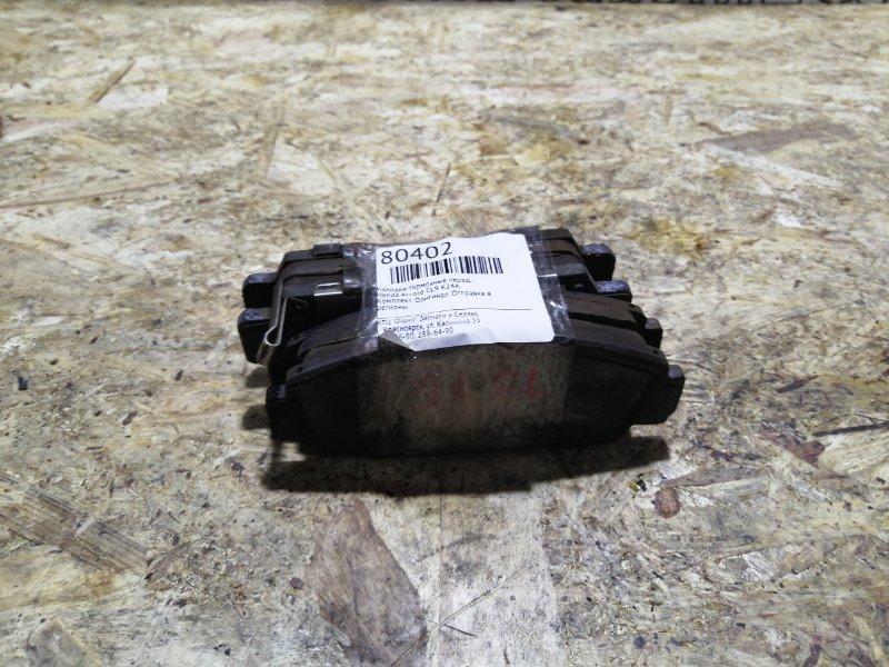 Колодки тормозные Honda Accord CL9 K24A передние