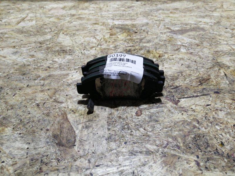 Колодки тормозные Honda Partner EY6 D13B передние