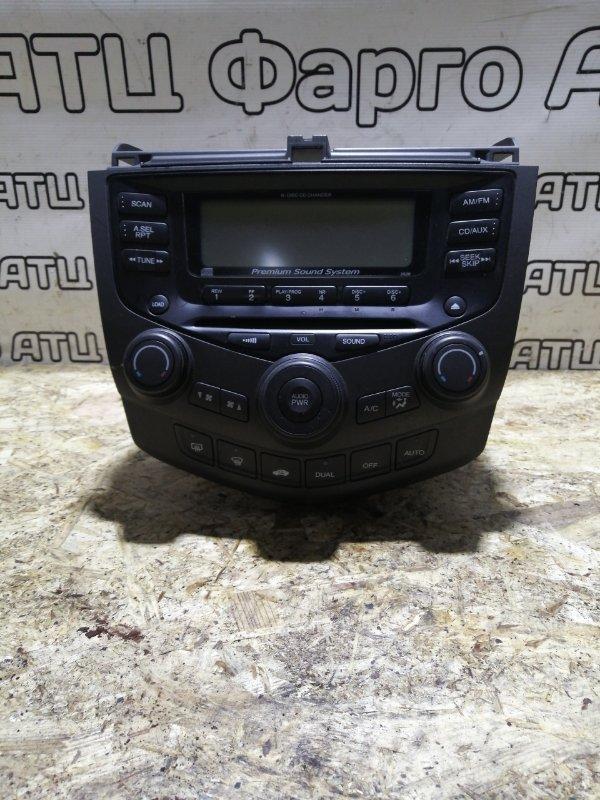 Магнитола Honda Accord CL7 K20A