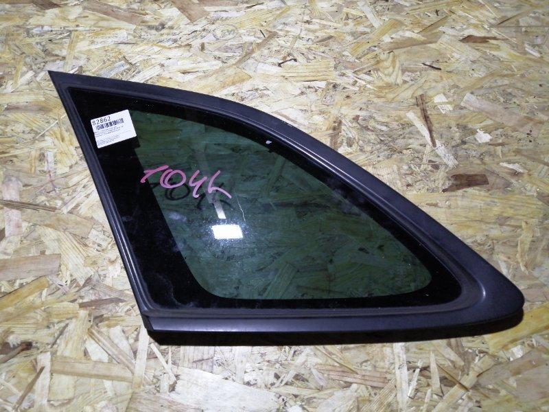 Стекло собачника Mazda Familia S-Wagon BJ5W ZL-VE заднее левое