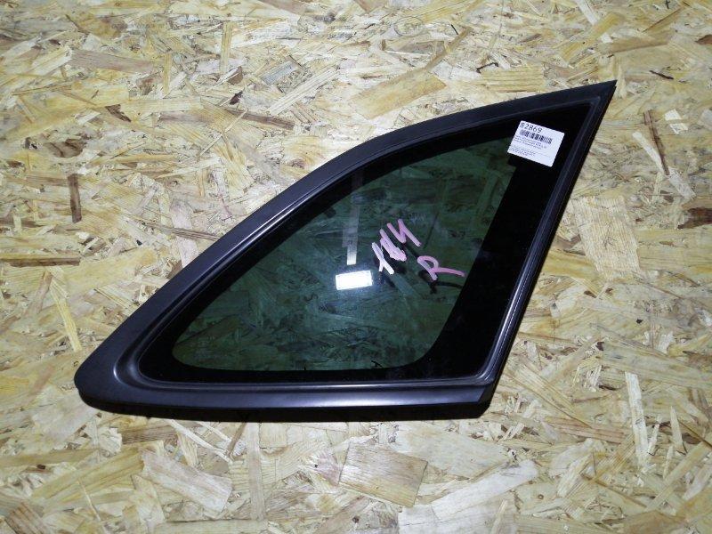 Стекло собачника Mazda Familia S-Wagon BJ5W ZL-VE заднее правое