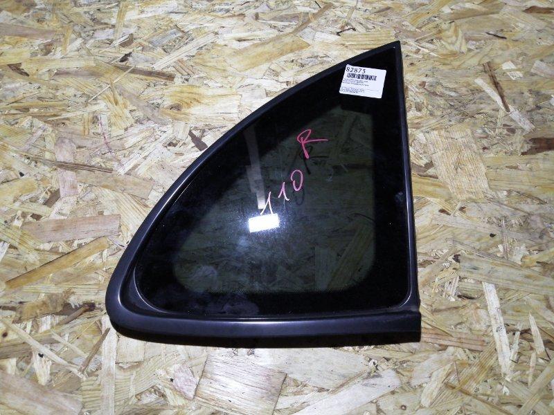Стекло собачника Nissan Tino V10 QG18DE заднее правое