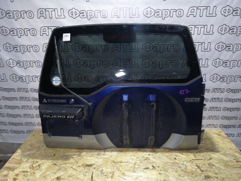 Дверь задняя багажника Mitsubishi Pajero Io H76W 4G93