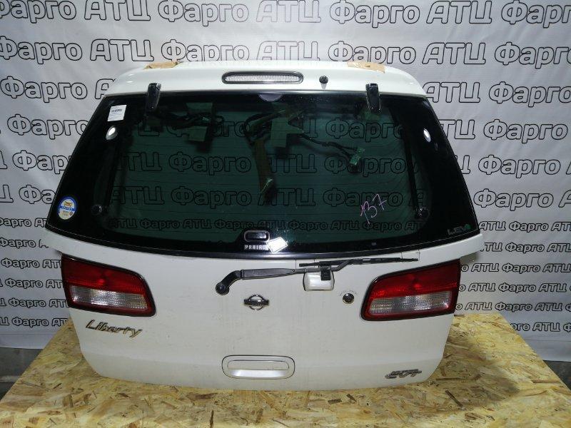 Дверь задняя багажника Nissan Liberty PM12 SR20DE