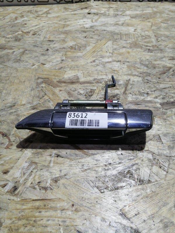 Ручка наружная Nissan Bluebird QU14 QG18DE задняя левая