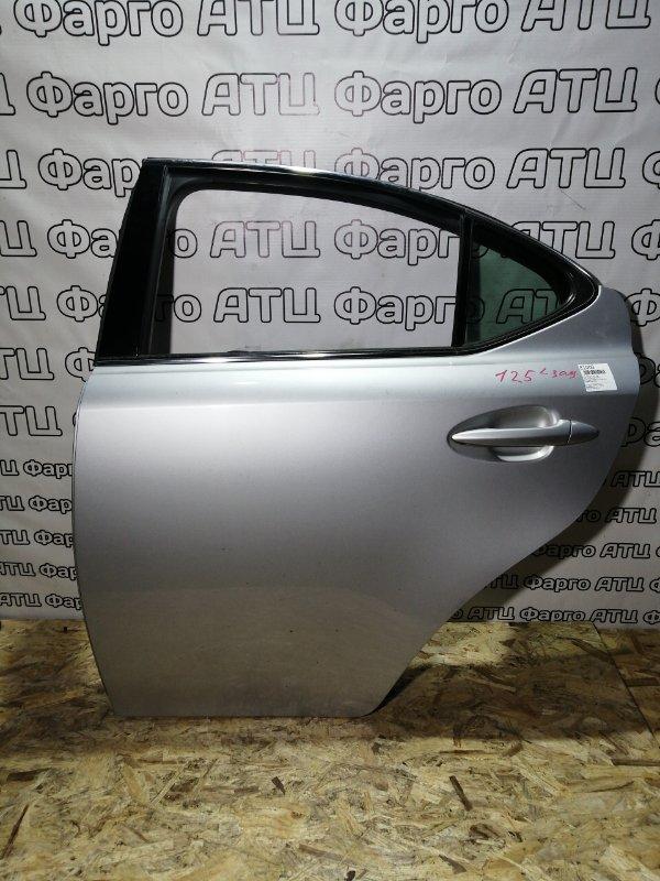 Дверь боковая Lexus Is250 GSE20 4GR-FSE задняя левая