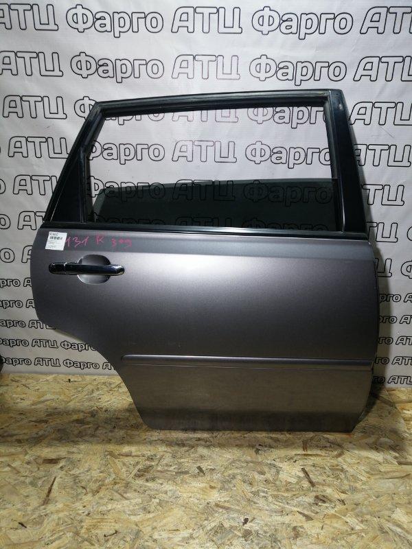 Дверь боковая Honda Avancier TA1 F23A задняя правая
