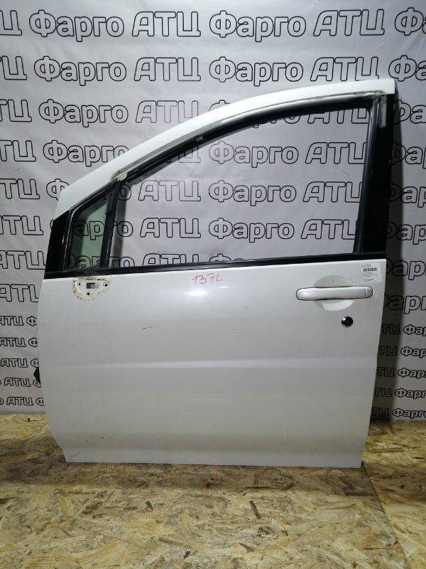Дверь боковая Nissan Liberty PM12 SR20DE передняя левая