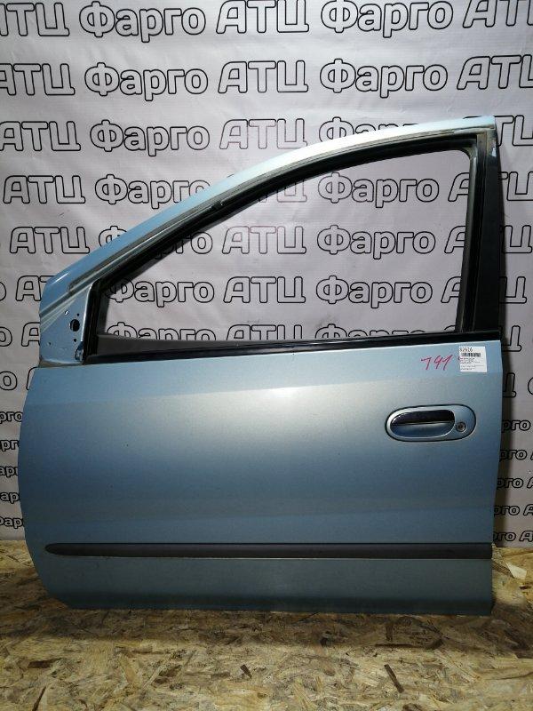 Дверь боковая Nissan Tino V10 QG18DE передняя левая