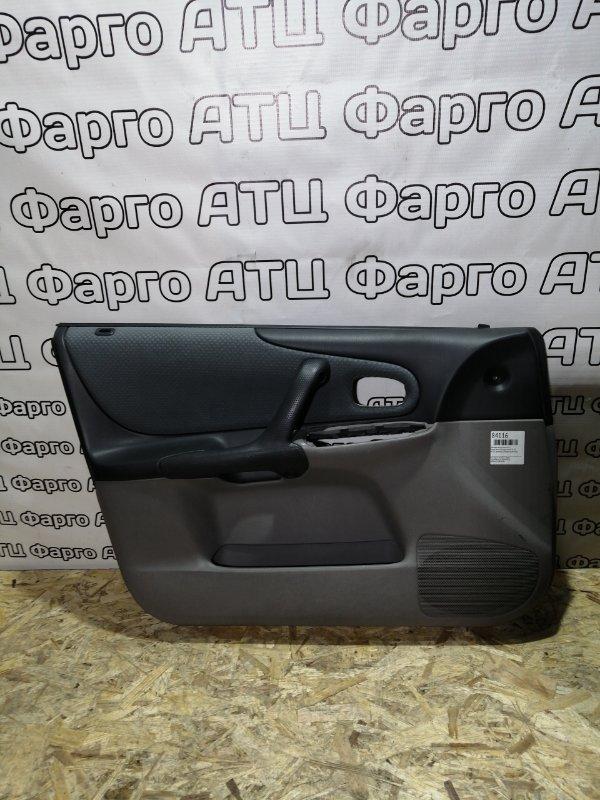 Обшивка двери Mazda Familia S-Wagon BJ5W ZL-DE передняя левая