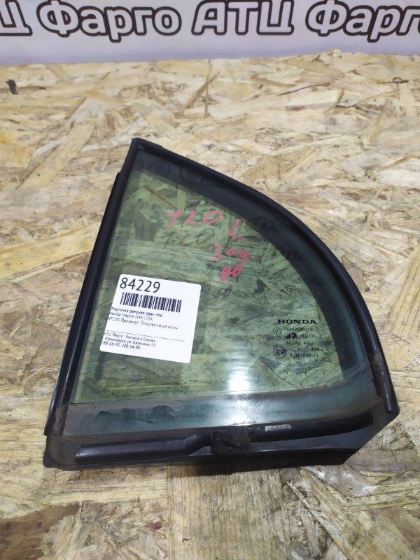 Форточка дверная Honda Inspire UA4 J25A задняя левая