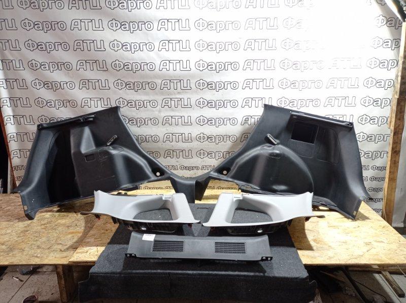 Обшивка багажника Honda Fit GD1 L13A