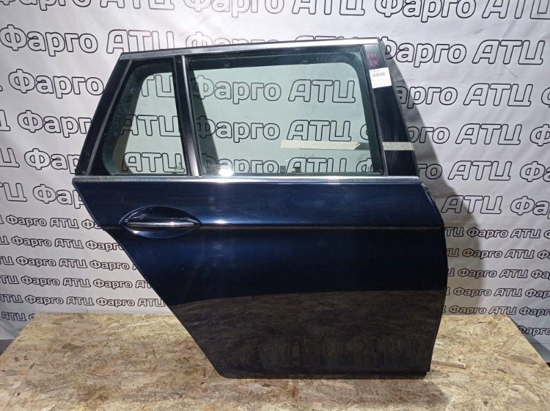 Дверь боковая Bmw 523I F11 N52B25A 2011 задняя правая