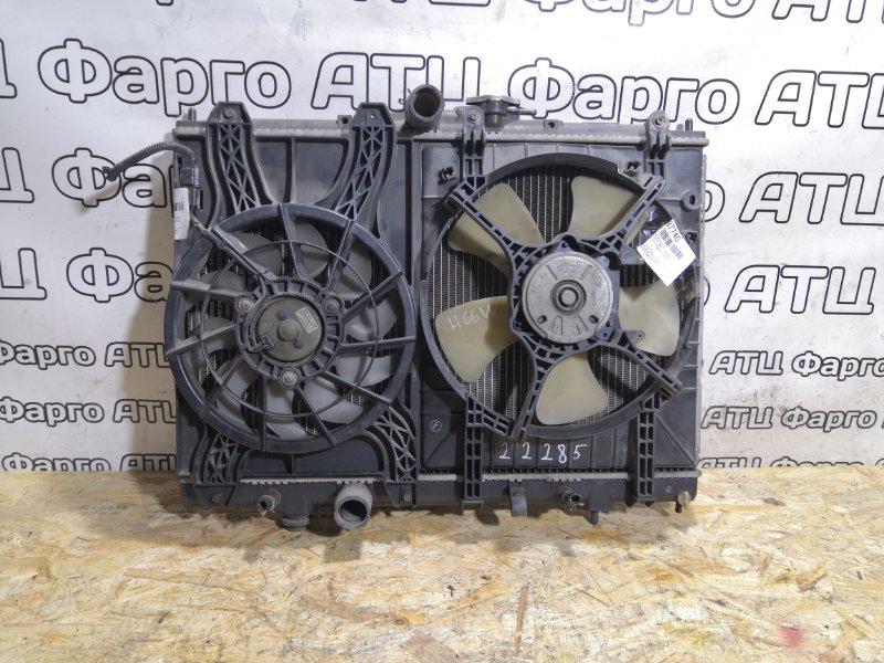 Радиатор двигателя Mitsubishi Pajero Io H66W 4G93