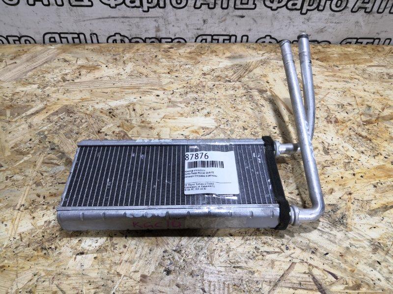 Радиатор отопителя Toyota Passo KGC10 1KR-FE