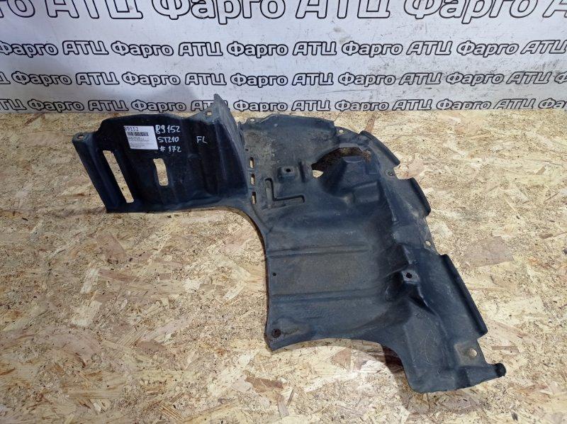 Защита двс Toyota Caldina ST210G 3S-FE передняя левая
