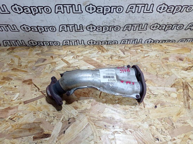 Труба приемная глушителя Toyota Caldina ST210G 3S-FE