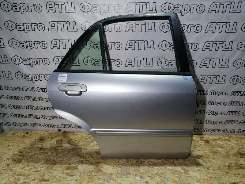 Дверь боковая Mazda Familia BJ5P ZL-DE задняя правая