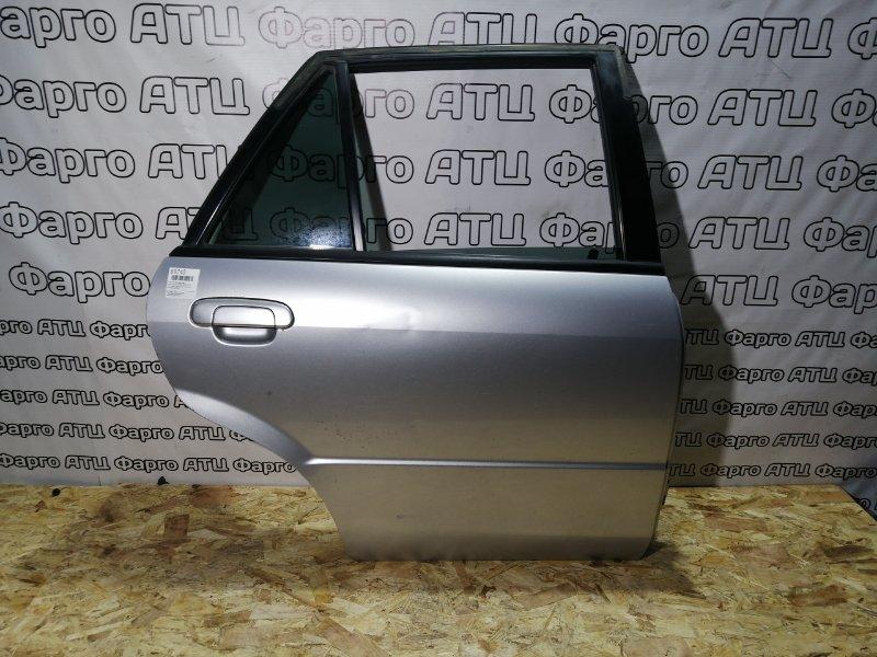 Дверь боковая Mazda Familia S-Wagon BJ5W ZL-DE задняя правая
