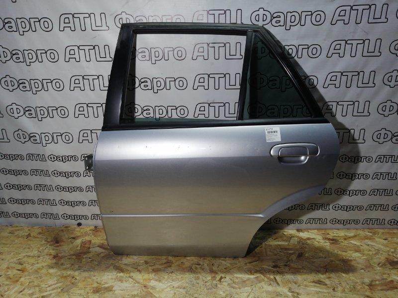 Дверь боковая Mazda Familia S-Wagon BJ5W ZL-DE задняя левая