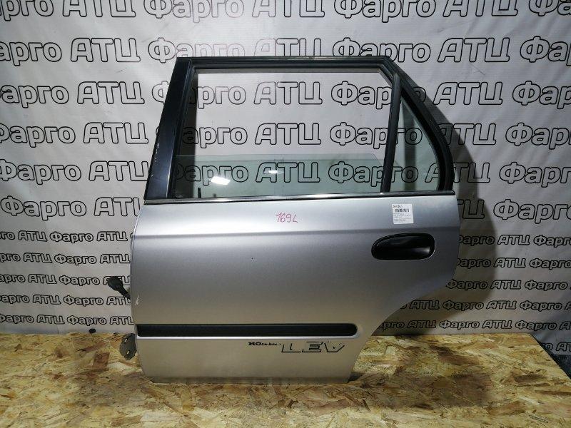 Дверь боковая Honda Partner EY7 D15B задняя левая