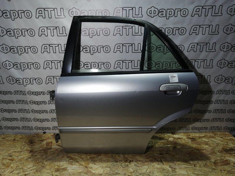 Дверь боковая Mazda Familia BJ5P ZL-DE задняя левая