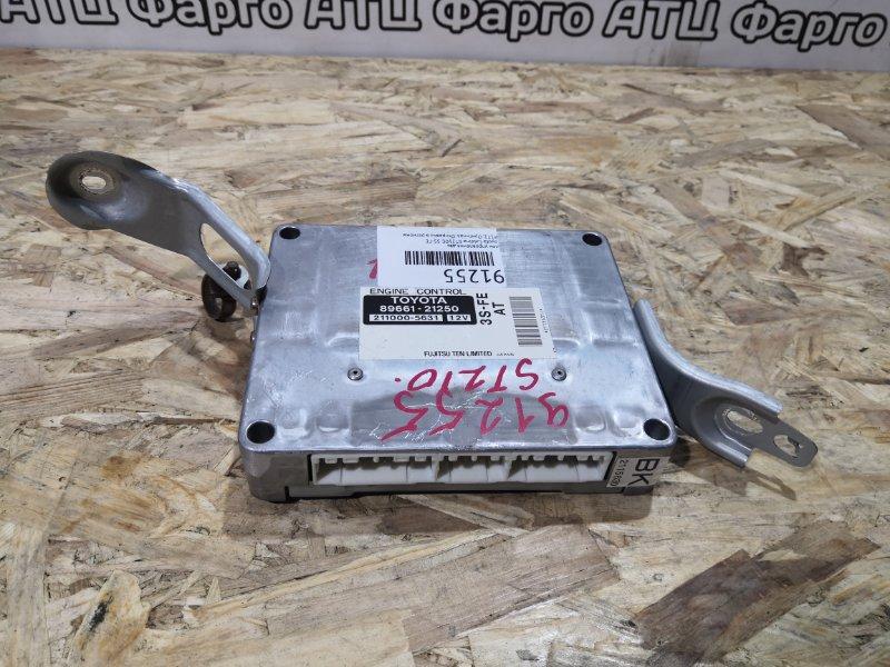 Блок управления двс Toyota Caldina ST210G 3S-FE