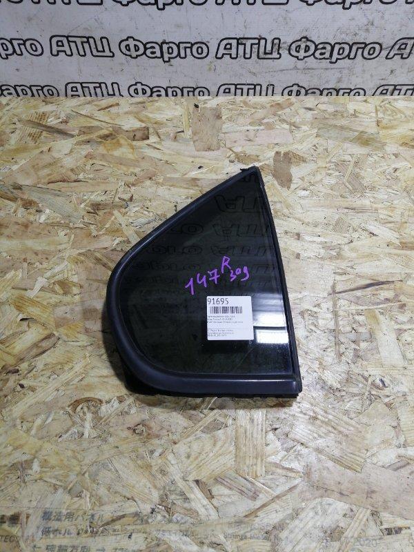 Форточка дверная Nissan Rnessa N30 SR20DE задняя правая