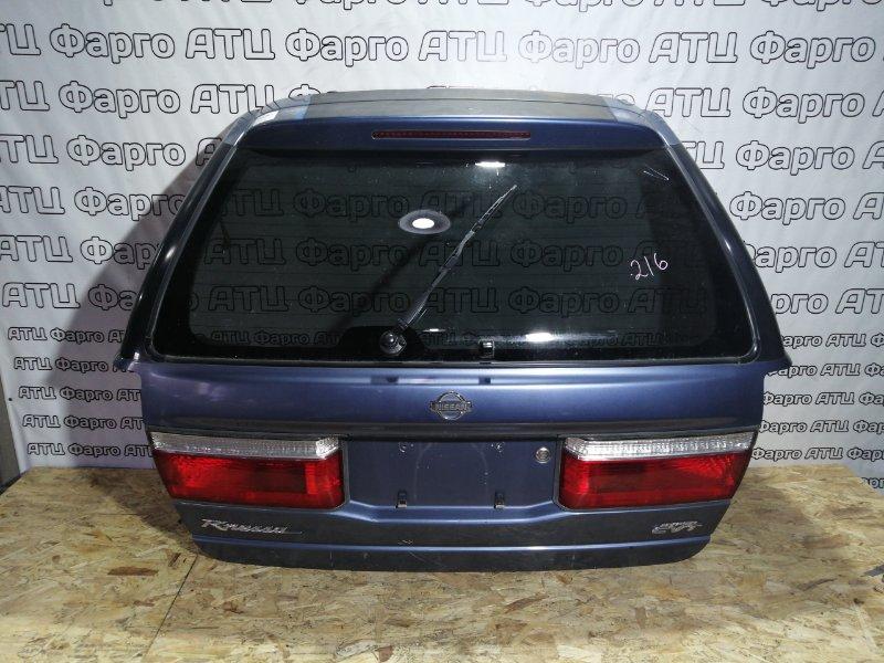 Дверь задняя багажника Nissan Rnessa N30 SR20DE