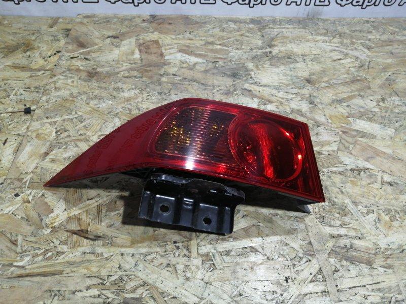Фонарь стоп-сигнала Honda Accord CL8 K20A задний левый