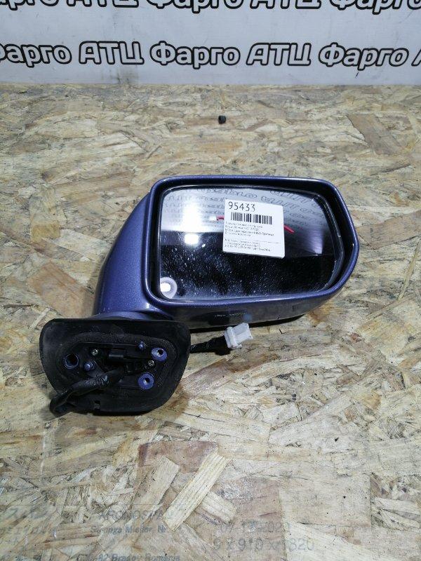 Зеркало боковое Nissan Rnessa N30 SR20DE переднее правое