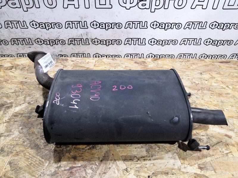 Глушитель Toyota Camry ACV40 2AZ-FE