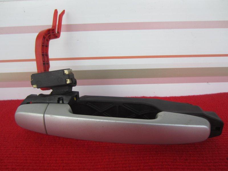 Ручка двери наружная Toyota Vitz Scp90 SCP90 1KR 2005 задняя правая