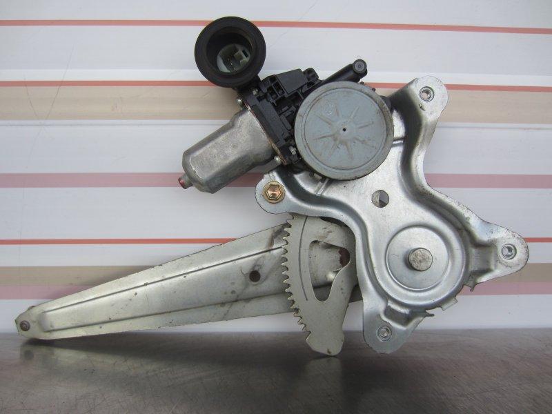 Стеклоподъёмник Toyota Vitz Scp90 SCP90 1KR 2005 задний правый