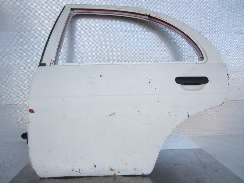 Дверь Nissan Almera N15 N15 GA16 1998 задняя левая