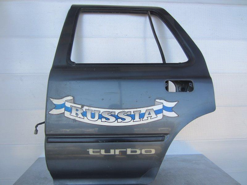 Дверь Toyota Surf 120 1990 задняя левая