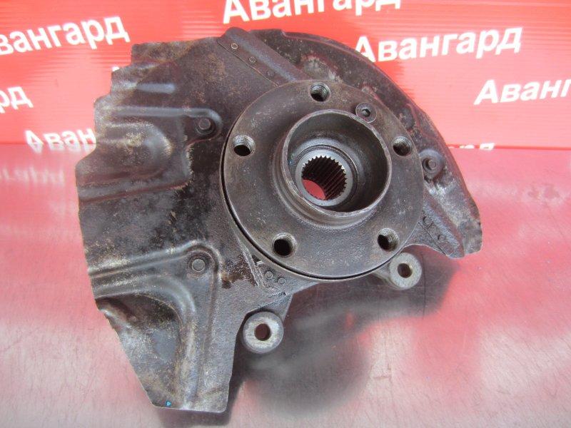 Кулак в сборе со ступицей Bmw E53 E53 M62B44TU 2001 передний