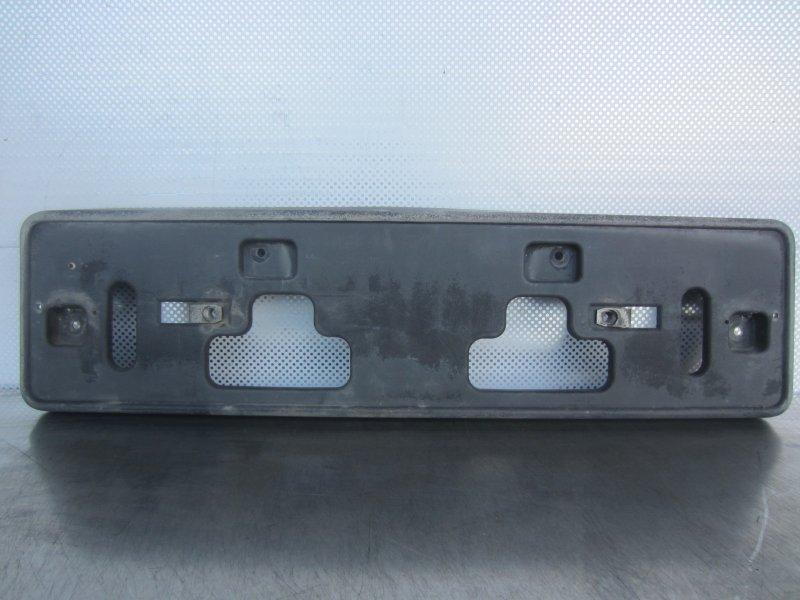 Площадка номерного знака Chevrolet Aveo T250 2007 передняя
