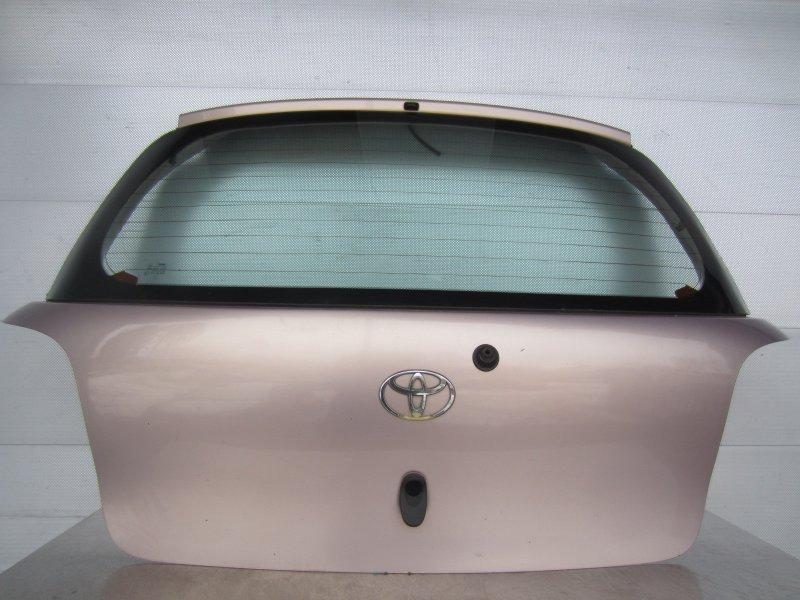 Крышка багажника Toyota Vitz Scp10 SCP10 2001