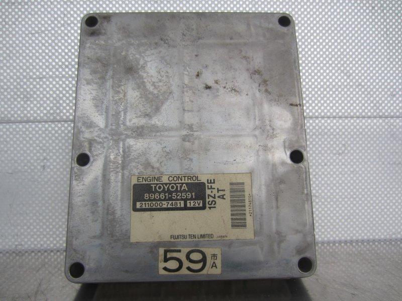 Эбу двс Toyota Vitz Scp10 SCP10 1SZ-FE 2001