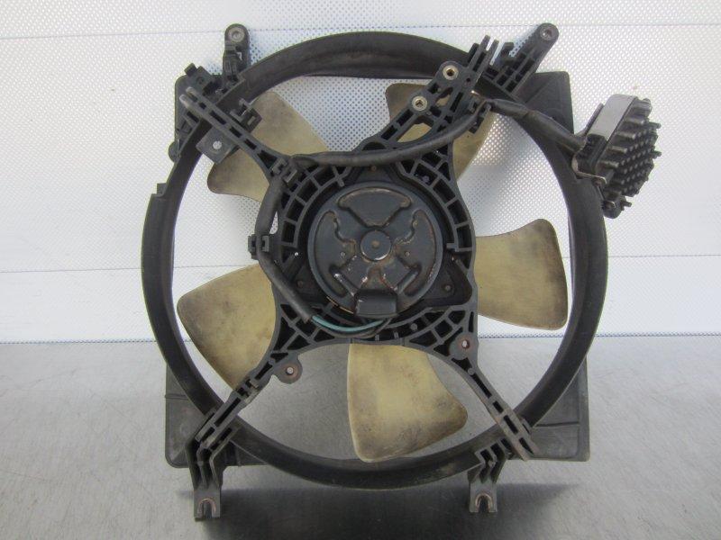 Электровентилятор охлаждения Mitsubishi Galant 8 СЕДАН 4D68 1998
