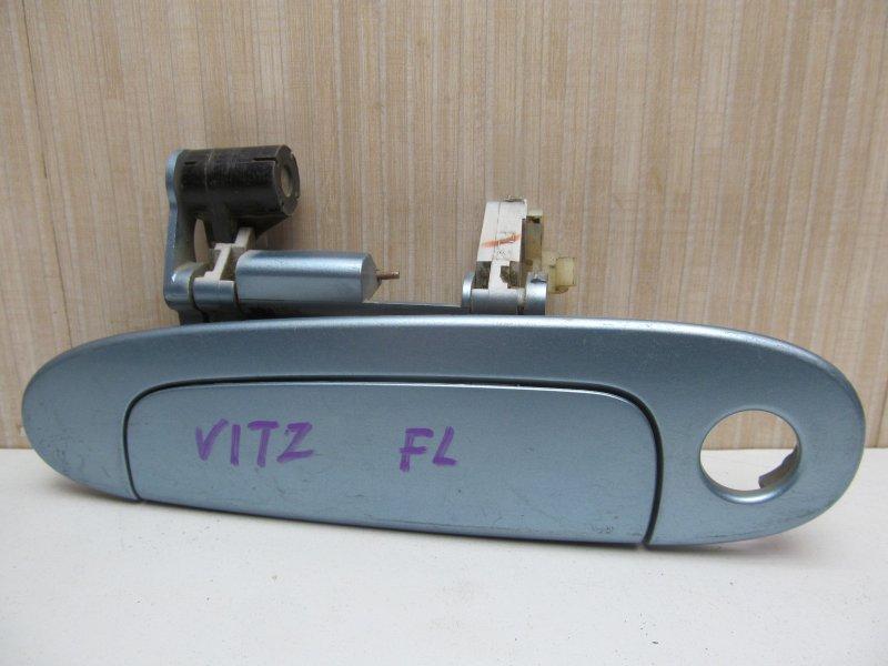 Ручка двери наружная Toyota Vitz Scp10 SCP10 2001 передняя левая