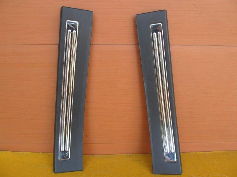 Накладка порога внутренняя декоративная Chery M11 ХЕТЧБЭК 2011 задняя